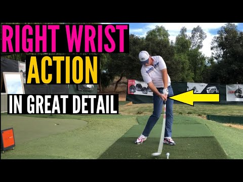 Actions of the Right Wrist in a Power Golf Swing