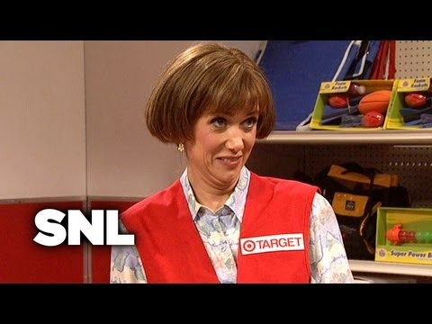 Target Lady: Meets Her First Lesbian – SNL