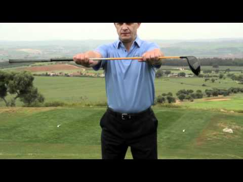 Simon Holmes Golf Warm Up Tips: Stretching the Lower Body