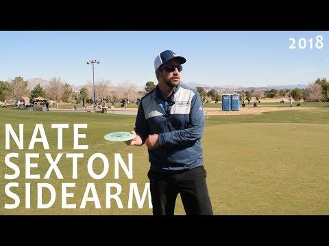 Nate Sexton Disc Golf Clinic – Sidearm