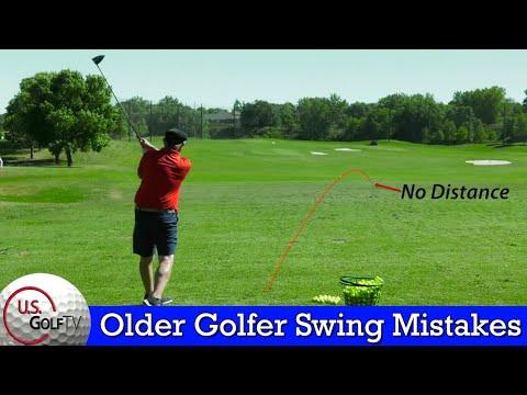 3 Common Golf Swing Mistakes Older Golfers Make