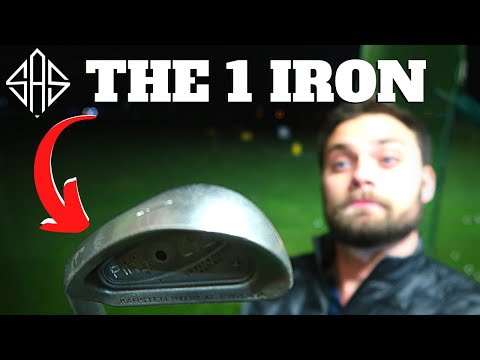 THE 1 IRON IS THE ULTIMATE TEST FOR ANY GOLFERS SWING…