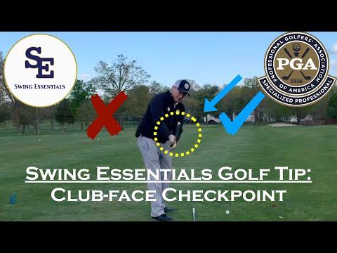Swing Essentials Golf Tip: Golf Swing Checkpoints