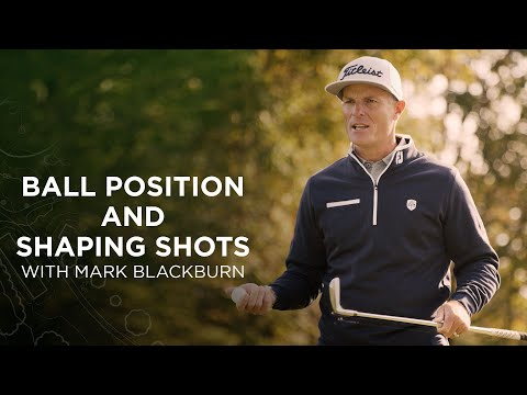 Titleist Tips: Use Ball Position to Shape Your Shots