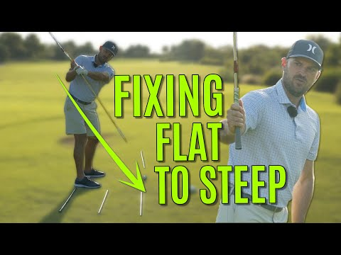 No More Flat Backswing Or Over The Top Downswing
