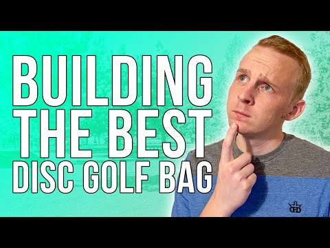 How to build the BEST disc golf bag without overlap!   Disc Golf Beginner's Guide