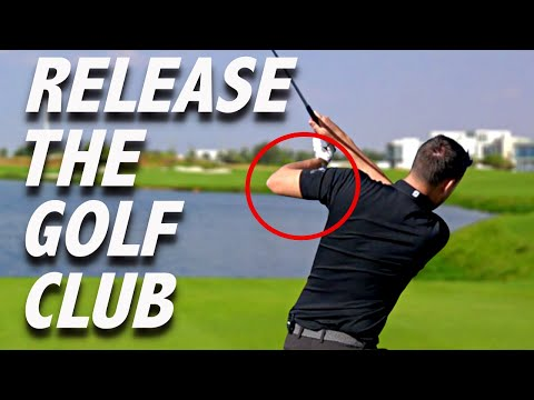 RELEASE THE GOLF CLUB CORRECTLY | No More chicken Wing | Golf Dubai Tips