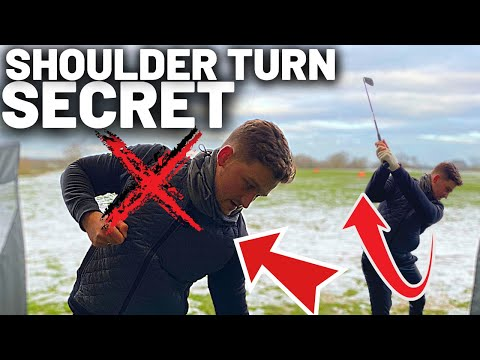 DO NOT TURN YOUR SHOULDERS:  Golf Swing MISTAKE
