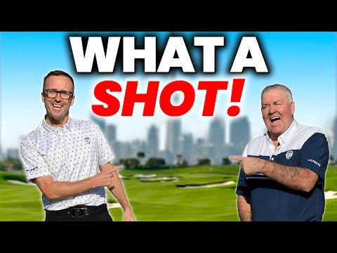 WE THOUGHT THIS GOLF SHOT WAS IMPOSSIBLE – BUT HE DID IT ! 😳