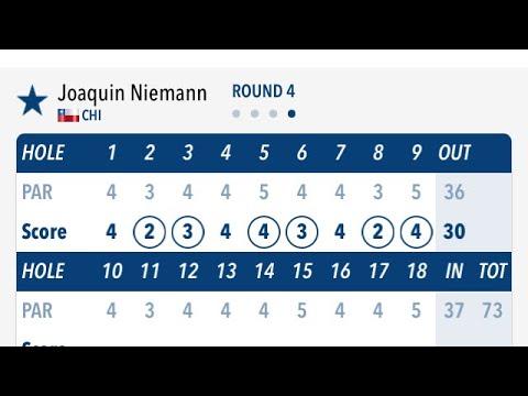 Joaco Niemann slow motion golf swing motivation! #golf #golfswing #bestgolfswings #alloverthegolf