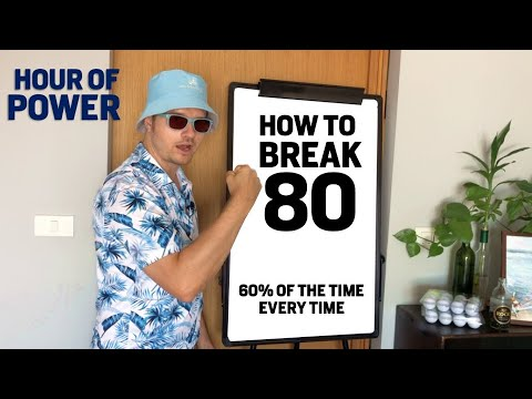 HOW TO BREAK 80 ultimate Guide for Golfers Scoring 80-86 – HOUR OF POWER