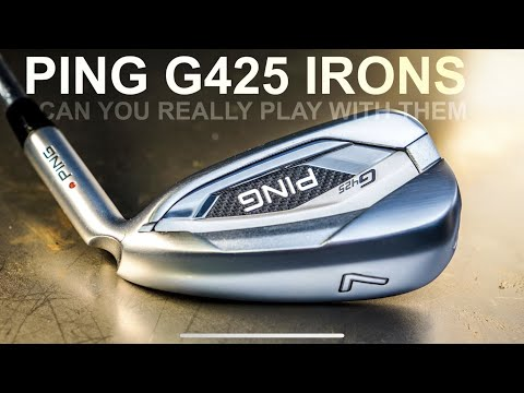 PING G425 IRONS CAN YOU PLAY THESE IRONS ON THE GOLF COURSE
