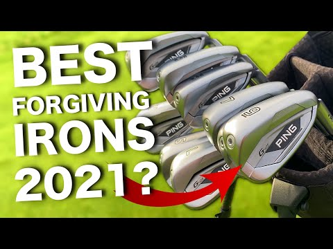 Best FORGIVING golf irons of 2021?   Ping G425 iron review