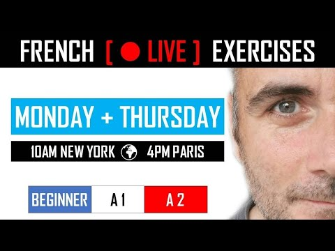 FRENCH BEGINNER EXERCISES  |  SAISON 04 EPISODE 10  |  LEARNING FRENCH MADE EASY