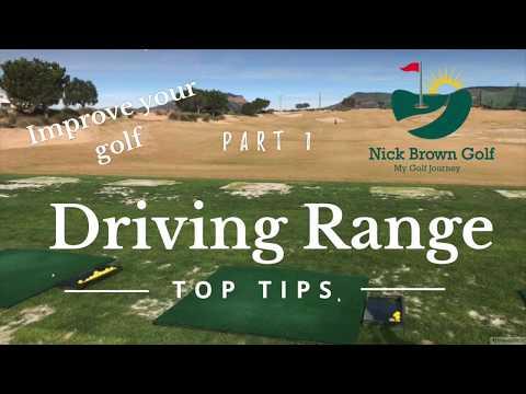 Golf Driving Range Hacks and Top Tips Part 1