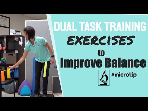 Dual Task Training Exercises to Improve Balance and Walking