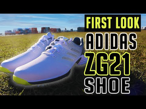 NEW adidas Golf ZG21 Shoe as worn by Dustin Johnson   First Look Review