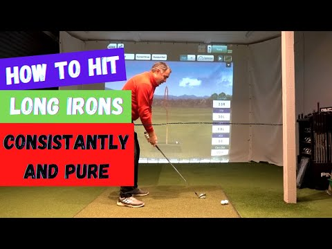 How to hit Long irons Consistently and Pure