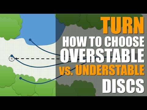 How to Choose Overstable vs. Understable Disc Golf Discs: TURN Explained