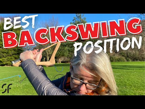 HOW TO GET INTO THE BEST POSITION AT TOP OF GOLF BACKSWING – AWESOME DRILL