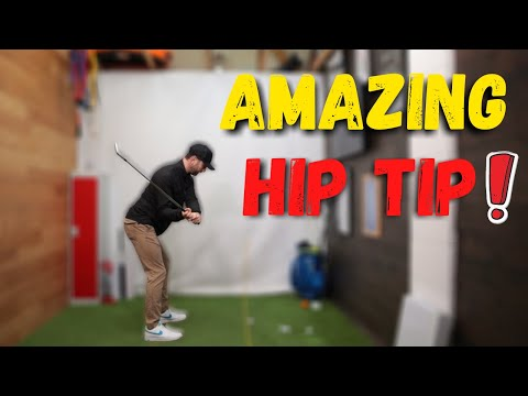 IS THIS THE EASIEST WAY TO MOVE THE HIPS IN THE GOLF SWING?!?!
