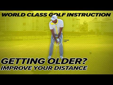 Effortless Power For Senior Golfers – Craig Hanson Golf