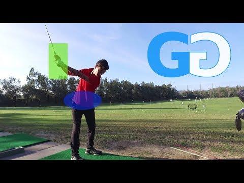 Golf Tips: golf Iron work, taller on backswing – better posture