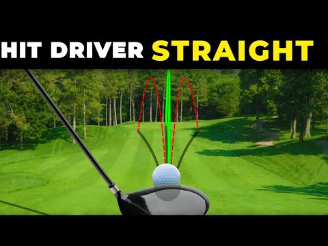 HOW TO HIT DRIVER STRAIGHT –  The driver swing is much easier when you know this