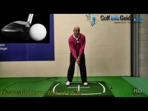 How to Hit a Hybrid Club Off the Ground – Senior Golf Tip!