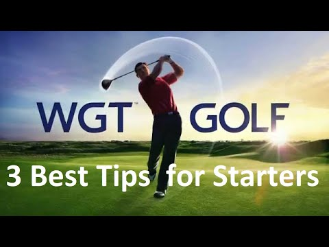 WGT Golf – 3 Top Tips & Tricks for Beginners