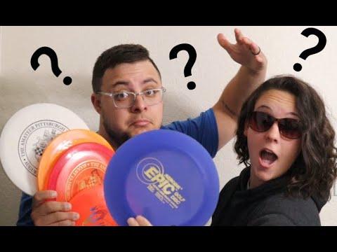 Disc Golf Mystery box   Weird disc?!