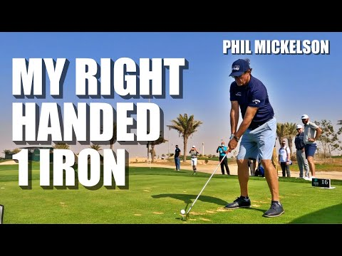 MY 1 IRON CHALLENGE WITH THE BEST PLAYERS IN THE WORLD! ft Phil Mickelson & Dustin Johnson