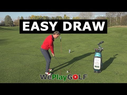 Golf instruction: Easy tip to draw the golf ball – How to curve the golf ball to the target