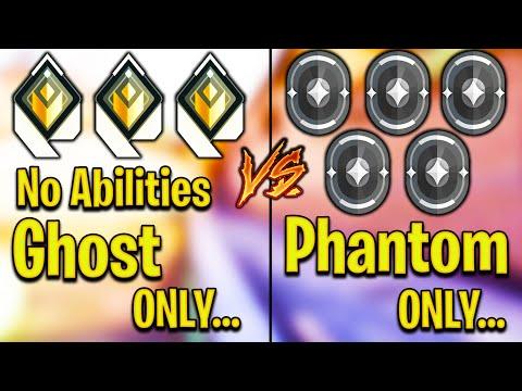 Valorant: 3 Radiant Ghosts VS 5 Iron Phantom Players! – Who Wins?