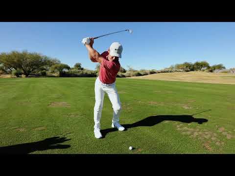 Hitting an 8-Iron with Paul Casey
