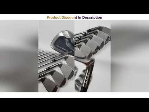 Golf Club Irons Set HONMA Tour World TW737p Iron Group 4-10 W (10 PCS)Black Head Steel Shaft R / S
