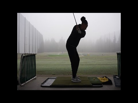 Driving Range Ball Flights(Slices,Tops, & All) 2 Months Into Golfing