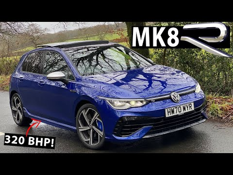 NEW *VW GOLF R MK8* REAL WORLD FIRST DRIVE // AS GOOD AS THE MK7 R?