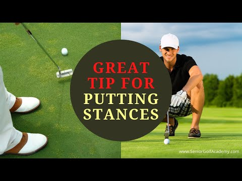Great Tip For Putting Stances