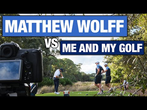 MATTHEW WOLFF vs ME AND MY GOLF   The MOST UNIQUE Golf Swing On Tour
