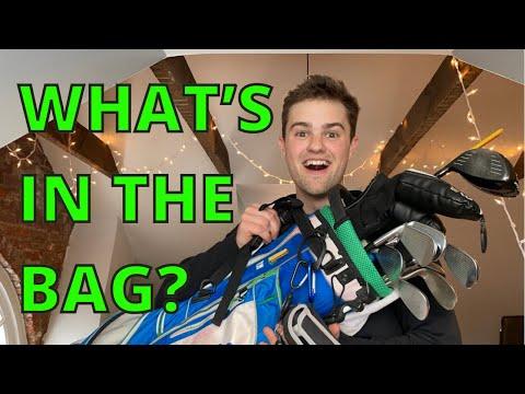 What's In My GOLF BAG? | Josh Mayer Golf