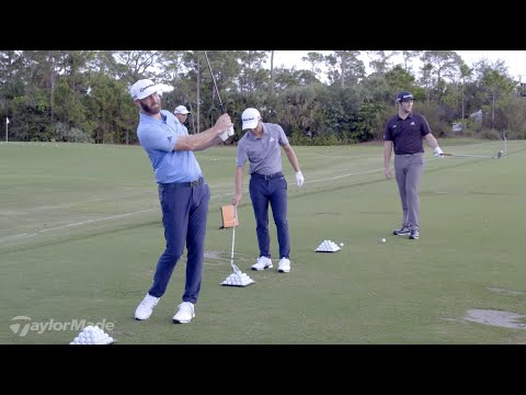 How Dustin Johnson Hits His Wedges | TaylorMade Golf