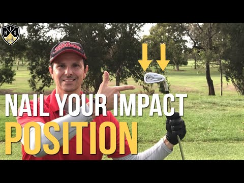 How To Get Perfect Impact Position With Your Irons
