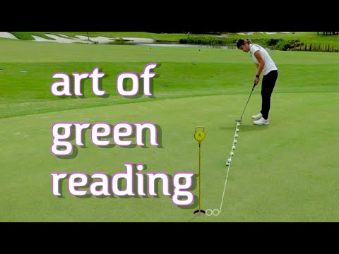 Art of Green Reading – Golf with Michele Low