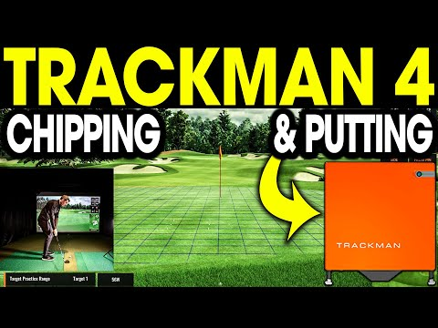 Trackman 4 – Putting & Chipping Review (Virtual Golf 2 Golf Simulator Software)