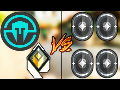 Valorant: 1 Player from Team Immortals VS 4 Iron Players! – Who Wins? (Radiant VS Irons)