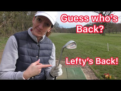 Lefty Strikes Again – Left handed golf with Pitching Wedge