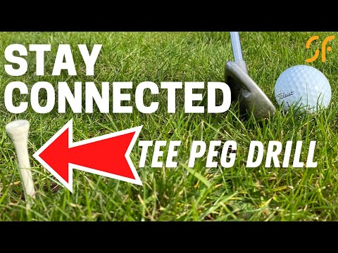 How to keep your arms and body MORE CONNECTED in the golf swing
