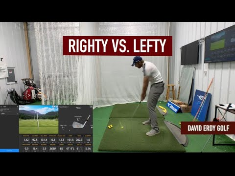 GOLF IS HARD: Switching to Left Handed