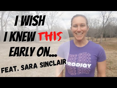 Pro Tips For Beginners Feat. Sara Sinclair of Team Prodigy!! | Disc Golf Guides
